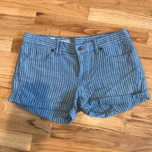 Made well striped shorts
